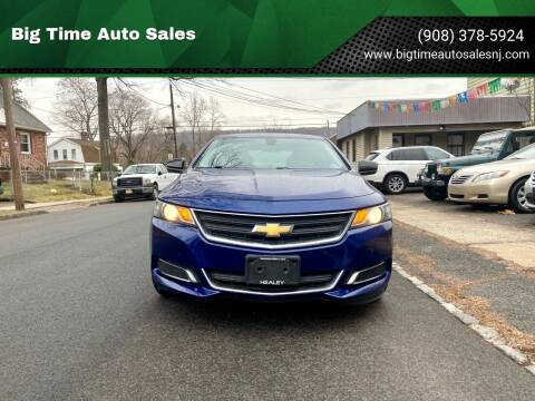 2014 Chevrolet Impala for sale at Big Time Auto Sales in Vauxhall NJ