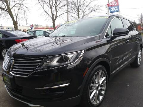 2015 Lincoln MKC for sale at Oak Hill Auto Sales of Wooster, LLC in Wooster OH