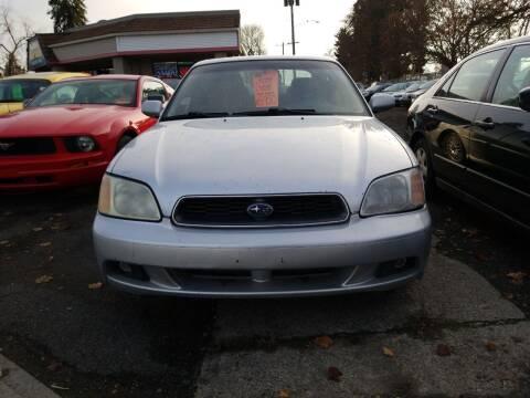 2004 Subaru Legacy for sale at 2 Way Auto Sales in Spokane Valley WA