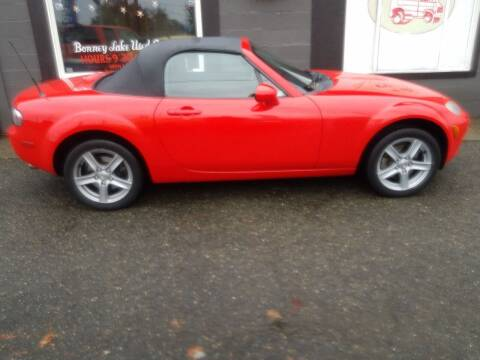 2006 Mazda MX-5 Miata for sale at Bonney Lake Used Cars in Puyallup WA