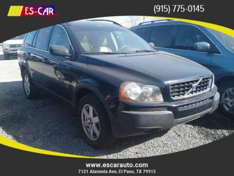 2006 Volvo XC90 for sale at Escar Auto in El Paso TX