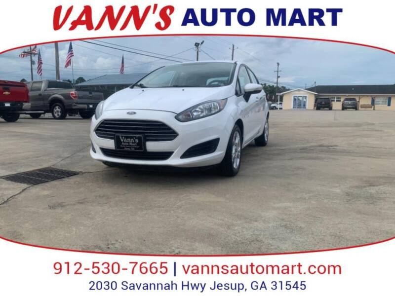 2014 Ford Fiesta for sale at VANN'S AUTO MART in Jesup GA