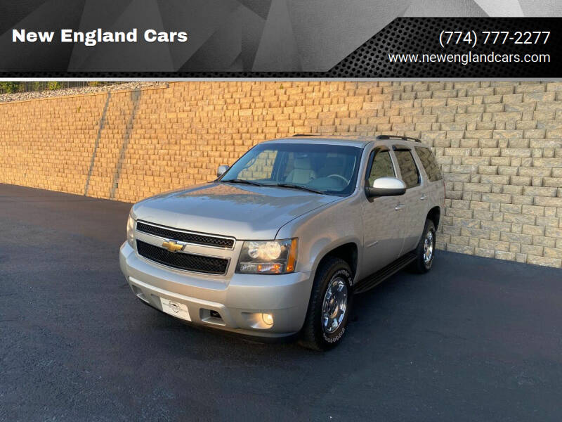 2007 Chevrolet Tahoe for sale at New England Cars in Attleboro MA