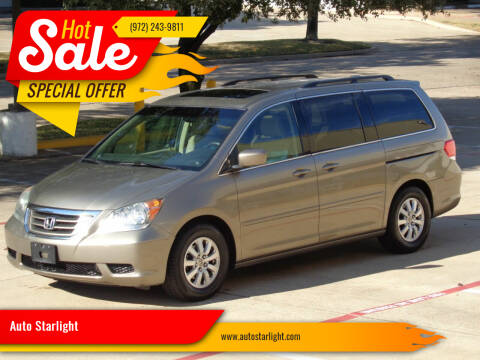 2008 Honda Odyssey for sale at Auto Starlight in Dallas TX
