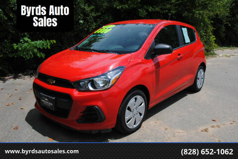 2017 Chevrolet Spark for sale at Byrds Auto Sales in Marion NC