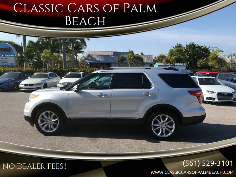 2014 Ford Explorer for sale at Classic Cars of Palm Beach in Jupiter FL