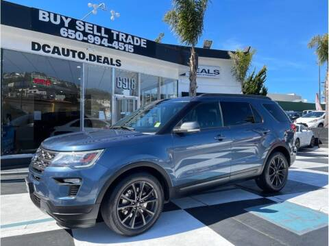 2018 Ford Explorer for sale at AutoDeals in Daly City CA