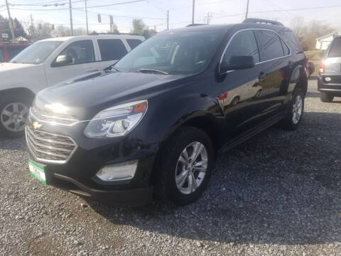2016 Chevrolet Equinox for sale at Cascade Used Auto Sales in Martinsburg WV