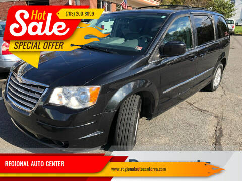 2010 Chrysler Town and Country for sale at REGIONAL AUTO CENTER in Stafford VA