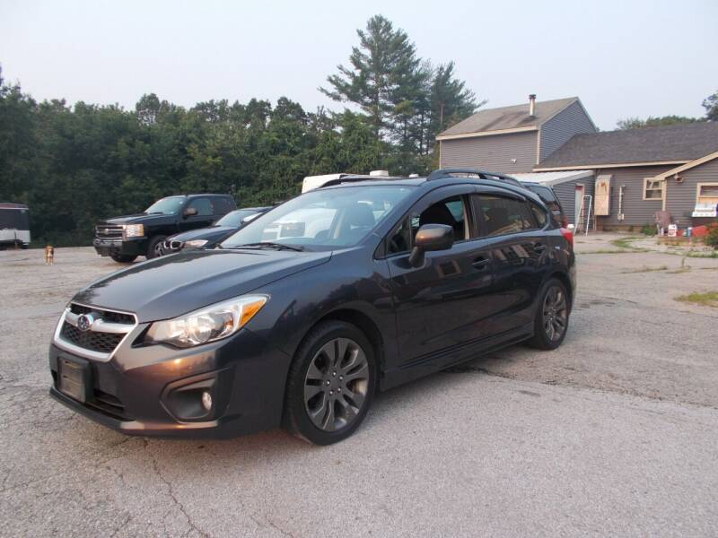 2013 Subaru Impreza for sale at Manchester Motorsports in Goffstown NH