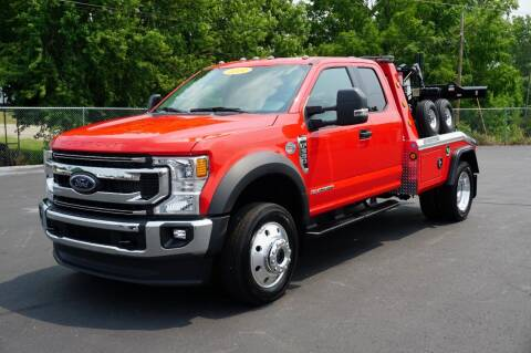 2021 Ford F-550 Supercab 4x4 for sale at Rick's Truck and Equipment in Kenton OH