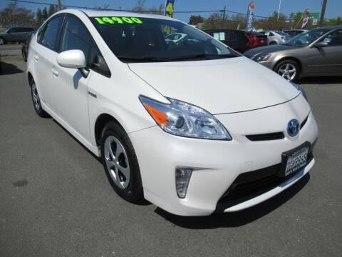 2014 Toyota Prius for sale at Tonys Toys and Trucks in Santa Rosa CA