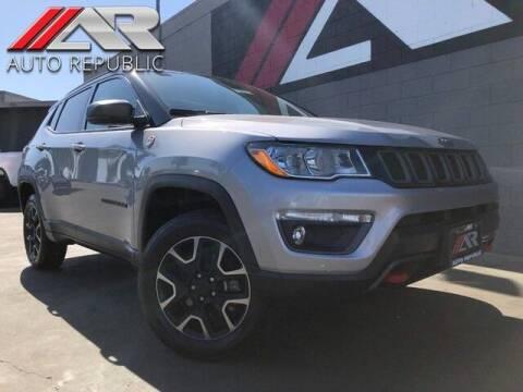 2019 Jeep Compass for sale at Auto Republic Fullerton in Fullerton CA