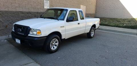2008 Ford Ranger for sale at SafeMaxx Auto Sales in Placerville CA