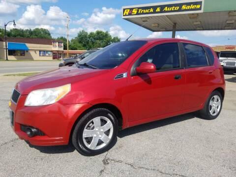 2011 Chevrolet Aveo for sale at R & S TRUCK & AUTO SALES in Vinita OK