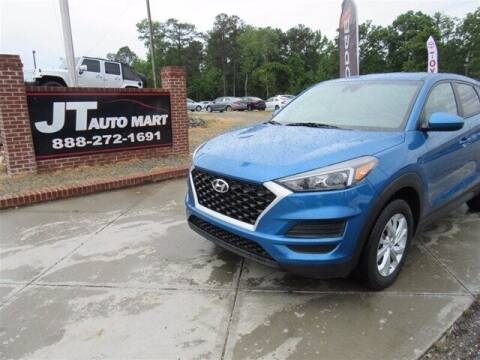 2019 Hyundai Tucson for sale at J T Auto Group in Sanford NC