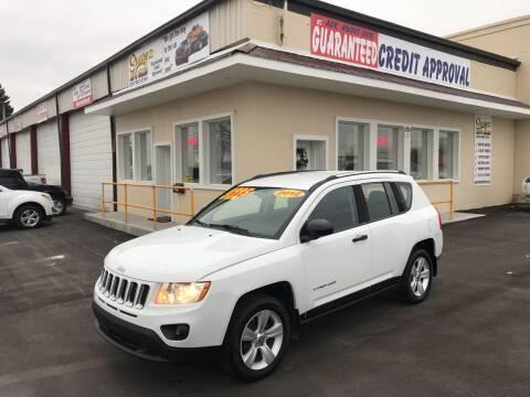 2012 Jeep Compass for sale at Suarez Auto Sales in Port Huron MI