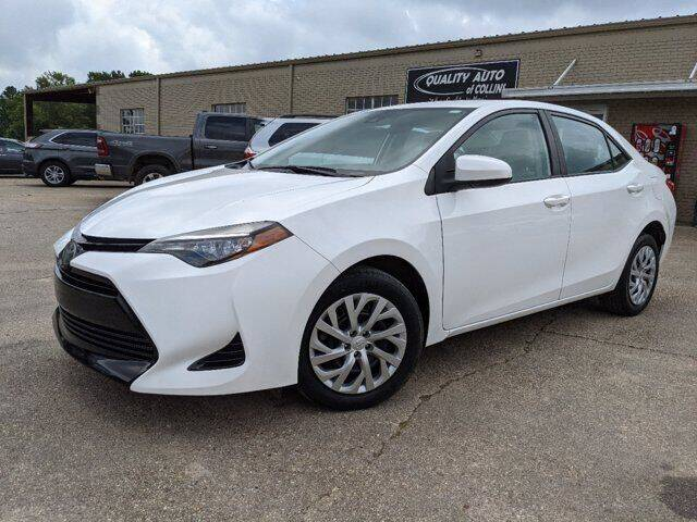 2017 Toyota Corolla for sale at Quality Auto of Collins in Collins MS
