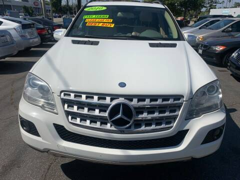 2010 Mercedes-Benz M-Class for sale at Car Lanes LA in Valley Village CA