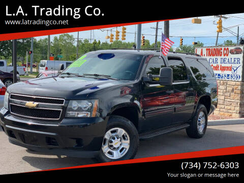 2010 Chevrolet Suburban for sale at L.A. Trading Co. in Woodhaven MI