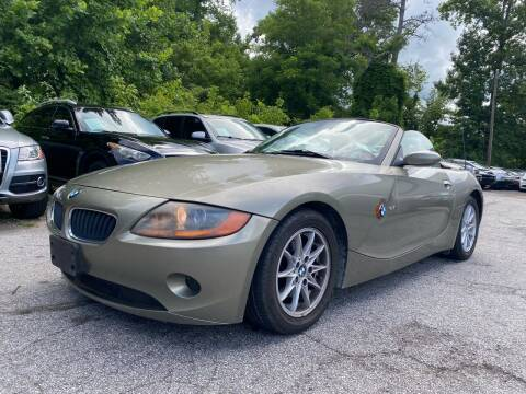 2004 BMW Z4 for sale at Car Online in Roswell GA