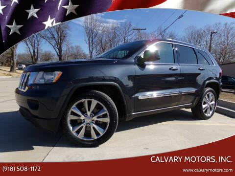 2013 Jeep Grand Cherokee for sale at Calvary Motors, Inc. in Bixby OK
