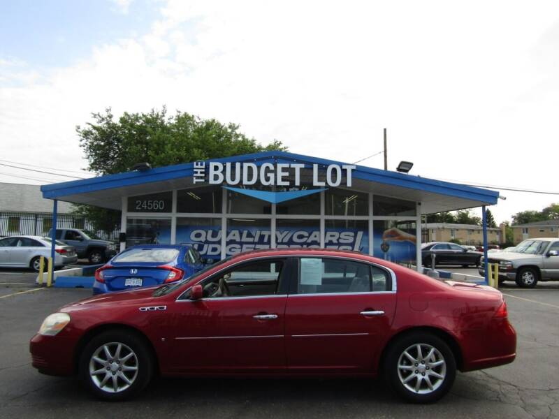 2008 Buick Lucerne for sale at THE BUDGET LOT in Detroit MI