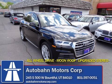 2018 Audi Q5 for sale at Autobahn Motors Corp in Bountiful UT