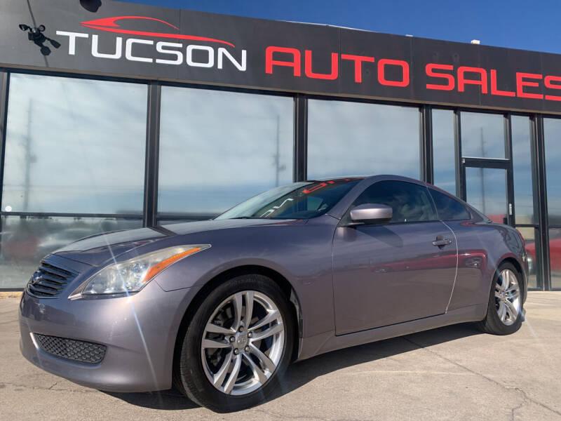 2008 Infiniti G37 for sale at Tucson Auto Sales in Tucson AZ