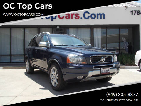 2013 Volvo XC90 for sale at OC Top Cars in Irvine CA
