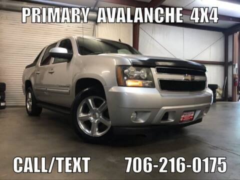 2010 Chevrolet Avalanche for sale at Primary Auto Group Jeeps Hummers Tacomas in Dawsonville GA