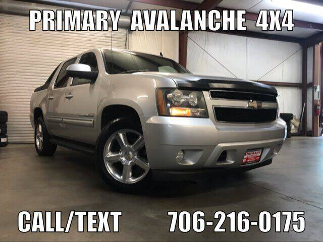 2010 Chevrolet Avalanche for sale at Primary Auto Group in Dawsonville GA