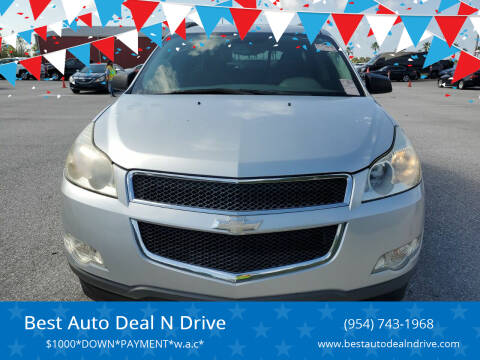 2010 Chevrolet Traverse for sale at Best Auto Deal N Drive in Hollywood FL