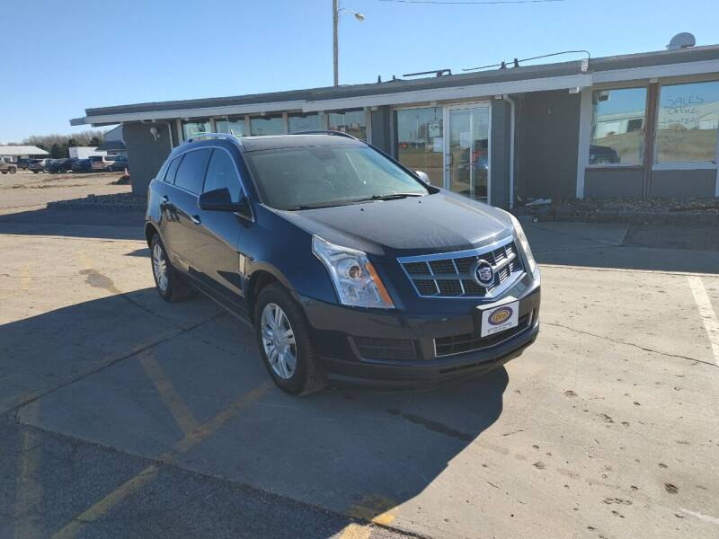 2010 Cadillac SRX for sale at BERG AUTO MALL & TRUCKING INC in Beresford SD