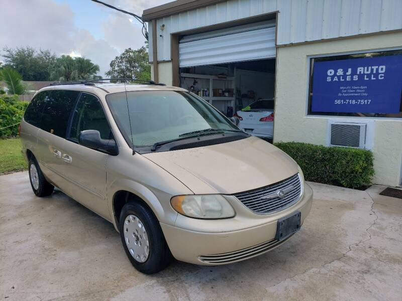 2001 Chrysler Town and Country for sale at O & J Auto Sales in Royal Palm Beach FL