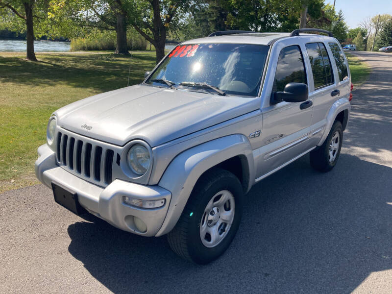 2002 Jeep Liberty for sale at BELOW BOOK AUTO SALES in Idaho Falls ID