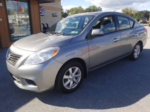 2014 Nissan Versa for sale at Perry Auto Service & Sales in Shoemakersville PA