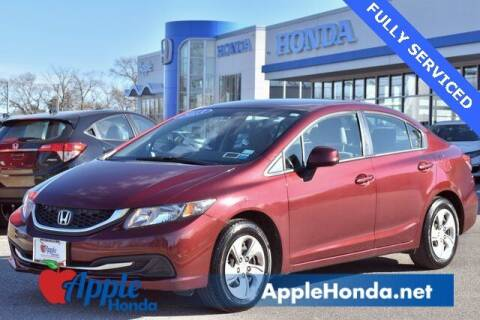 2013 Honda Civic for sale at APPLE HONDA in Riverhead NY
