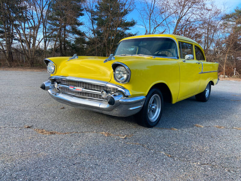 1957 Chevrolet Bel Air for sale at Clair Classics in Westford MA