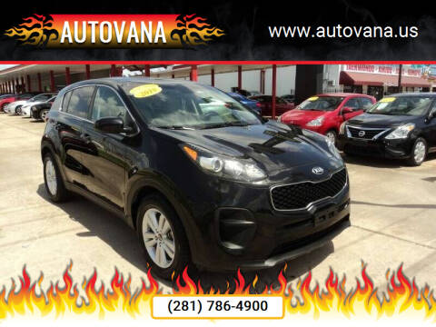 2018 Kia Sportage for sale at AutoVana in Humble TX