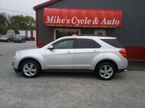 2012 Chevrolet Equinox for sale at MIKE'S CYCLE & AUTO - Mikes Cycle and Auto (Liberty) in Liberty IN