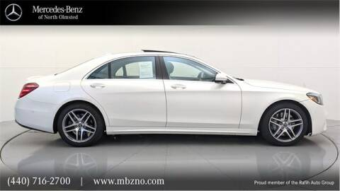 2020 Mercedes-Benz S-Class for sale at Mercedes-Benz of North Olmsted in North Olmsted OH