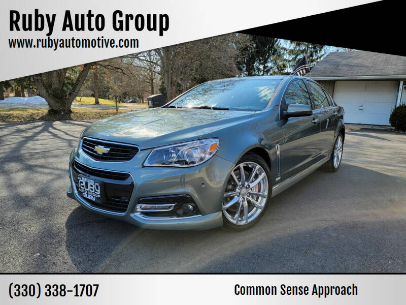 2014 Chevrolet SS for sale at Ruby Auto Group in Hudson OH