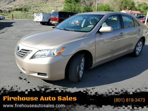 2007 Toyota Camry for sale at Firehouse Auto Sales in Springville UT