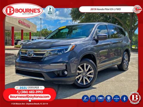 2019 Honda Pilot for sale at Bourne's Auto Center in Daytona Beach FL