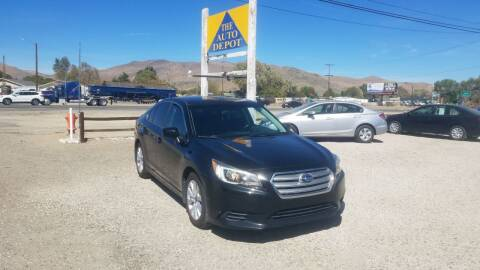 2015 Subaru Legacy for sale at Auto Depot in Carson City NV