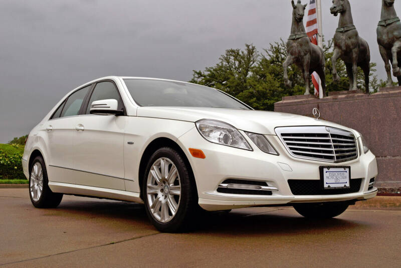 2012 Mercedes-Benz E-Class for sale at European Motor Cars LTD in Fort Worth TX