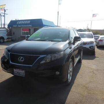 2010 Lexus RX 350 for sale at Luxor Motors Inc in Pacoima CA