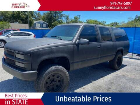 1995 Chevrolet Suburban for sale at Sunny Florida Cars in Bradenton FL