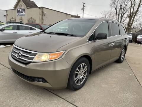 2012 Honda Odyssey for sale at T & G / Auto4wholesale in Parma OH